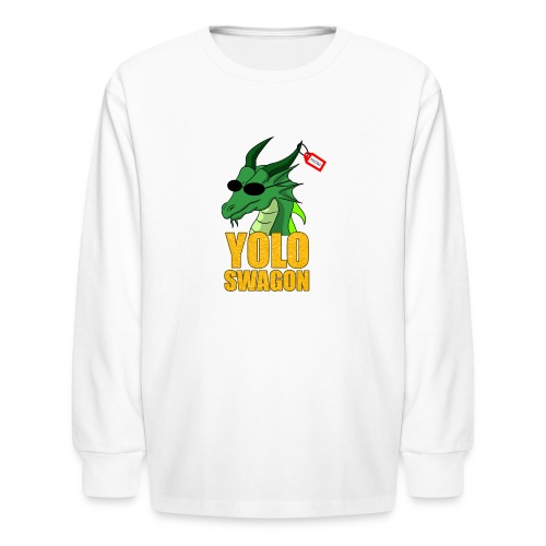 Yolo Swagon (Women's) - Kids' Long Sleeve T-Shirt