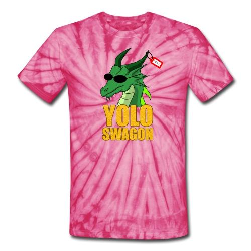 Yolo Swagon (Women's) - Unisex Tie Dye T-Shirt