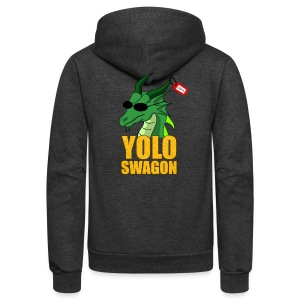 Yolo Swagon (Women's) - Unisex Fleece Zip Hoodie