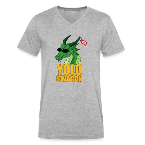 Yolo Swagon (Women's) - Men's V-Neck T-Shirt by Canvas