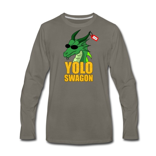 Yolo Swagon (Women's) - Men's Premium Long Sleeve T-Shirt