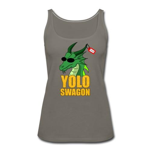 Yolo Swagon (Women's) - Women's Premium Tank Top