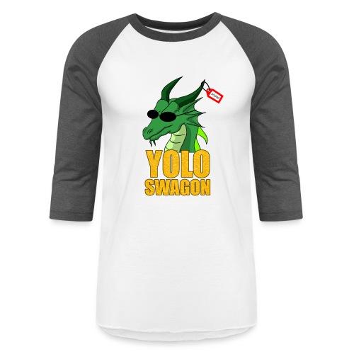 Yolo Swagon (Women's) - Baseball T-Shirt