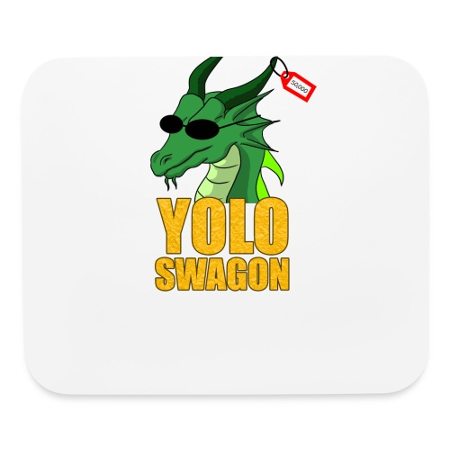 Yolo Swagon (Women's) - Mouse pad Horizontal