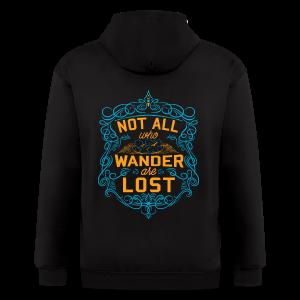 Wanderlust - Men's Zip Hoodie