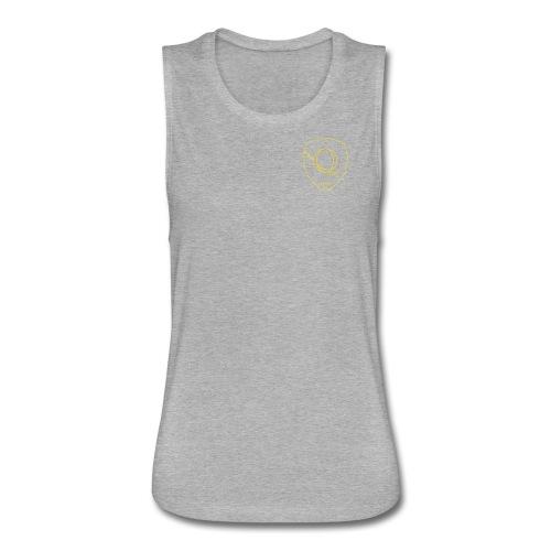 Chest Crest (Women's) - Women's Flowy Muscle Tank by Bella