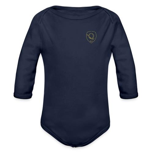 Chest Crest (Women's) - Organic Long Sleeve Baby Bodysuit