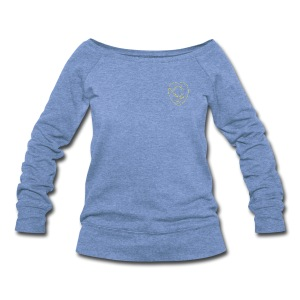 Chest Crest (Women's) - Women's Wideneck Sweatshirt