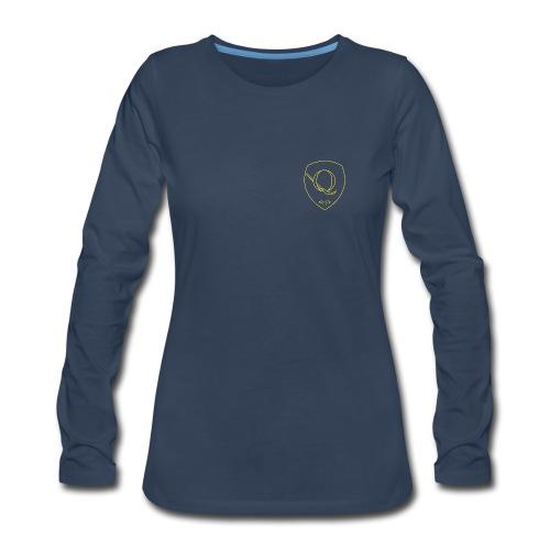 Chest Crest (Women's) - Women's Premium Long Sleeve T-Shirt