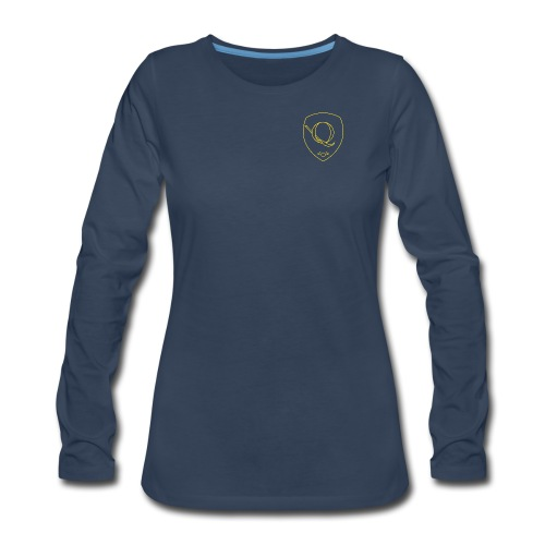 Chest Crest (Women's) - Women's Premium Long Sleeve T-Shirt