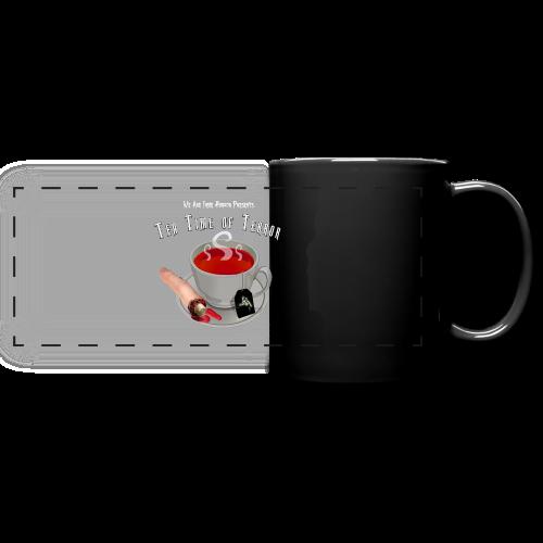 Tea Time of Terror Mug 1 - Full Color Panoramic Mug
