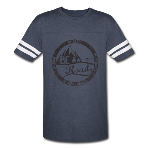 BE the Road - Distressed Logo - Vintage Sport T-Shirt