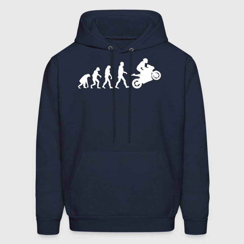 Biker Evolution Hoodies - Men's Hoodie