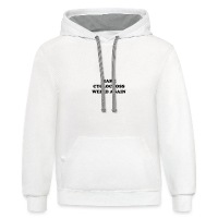 Make cyclocross weird again! - Contrast Hoodie