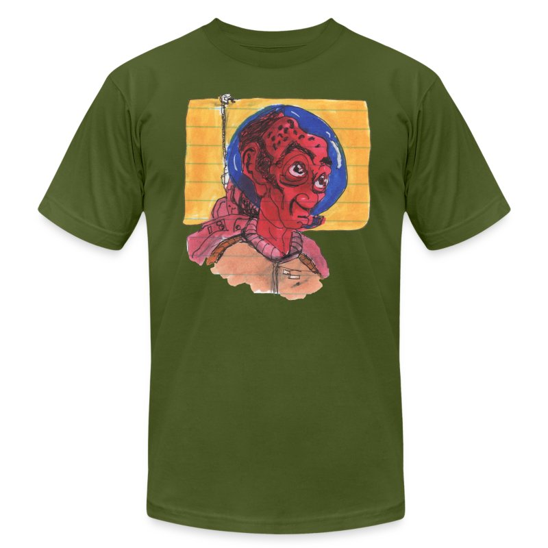HEADBUST 73.png - Men's Fine Jersey T-Shirt