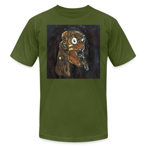 HEADBUST 76.png - Men's T-Shirt by American Apparel