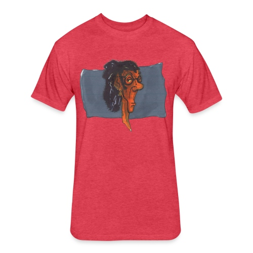 HEADBUST 75.png - Fitted Cotton/Poly T-Shirt by Next Level