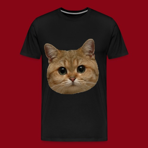 Cat Face! - Men's Premium T-Shirt