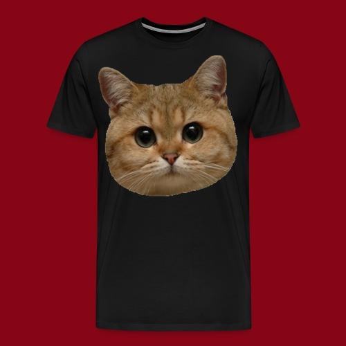 Cat Face! - Men's Premium T-Shirt