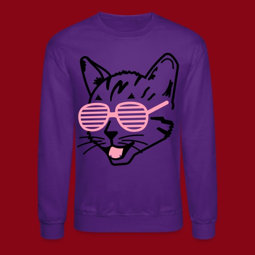 Cool Cat! - Crewneck Sweatshirt