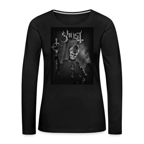 Ghost - Papa Emeritus II WOMEN - Women's Premium Long Sleeve T-Shirt