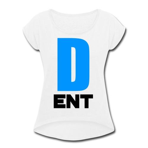 DeEntertainment Women's T - Women's Roll Cuff T-Shirt