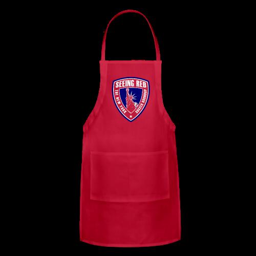 Seeing Red! Logo - Kid's T-Shirt, Red - Adjustable Apron
