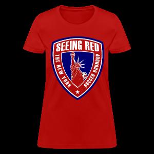 Seeing Red! Logo - Kid's T-Shirt, Red - Women's T-Shirt