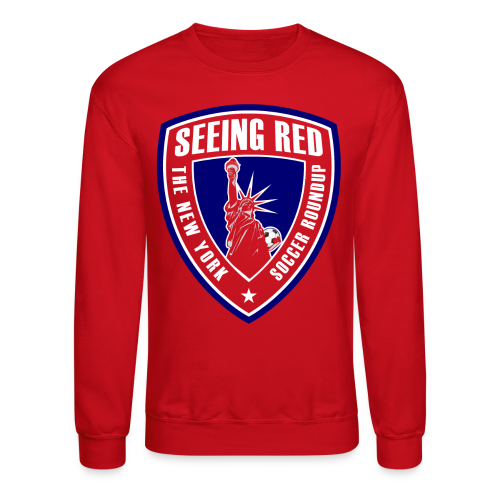 Seeing Red! Logo - Kid's T-Shirt, Red - Crewneck Sweatshirt