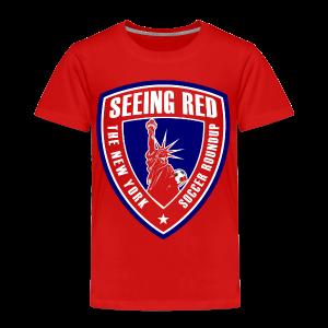 Seeing Red! Logo - Kid's T-Shirt, Red - Toddler Premium T-Shirt