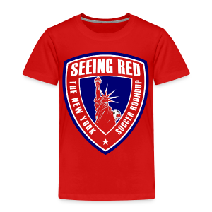 Seeing Red! Logo - Kid's T-Shirt, Red - Toddler Premium T-Shirt