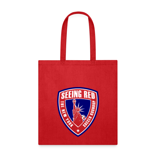 Seeing Red! Logo - Kid's T-Shirt, Red - Tote Bag