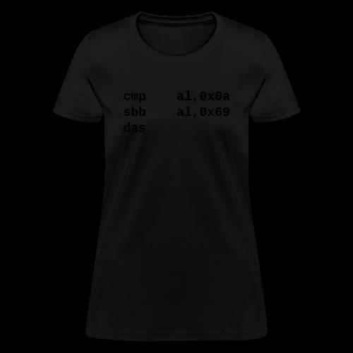 das_female - Women's T-Shirt