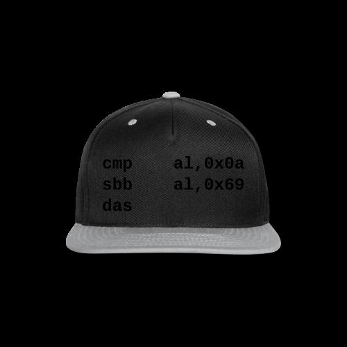 das_female - Snap-back Baseball Cap