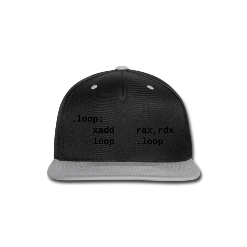 xadd_female - Snap-back Baseball Cap