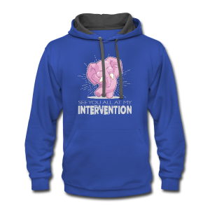 Intervention - Contrast Hoodie