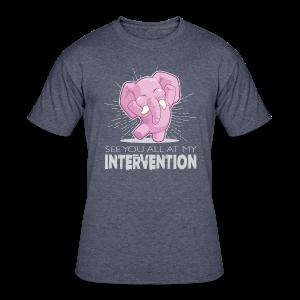Intervention - Men's 50/50 T-Shirt