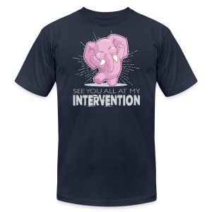 Intervention - Men's Fine Jersey T-Shirt