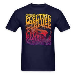 Electric Blues - Men's T-Shirt