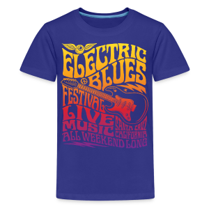 Electric Blues - Kids' Premium T-Shirt