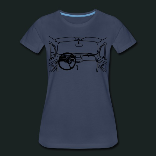 Beetle Dashboard - Women's Premium T-Shirt