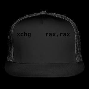 xchg_rax_rax_female - Trucker Cap