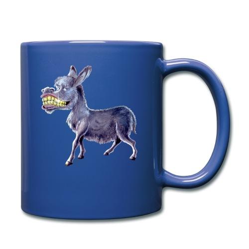 Funny Keep Smiling Donkey - Full Color Mug