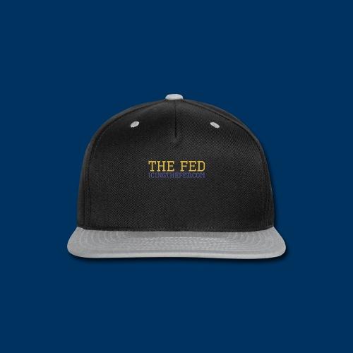 The Fed - Snap-back Baseball Cap