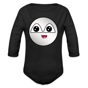 Kids EpicSilver's Face  - Long Sleeve Baby Bodysuit