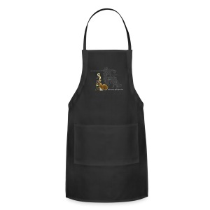 Taur themed shirt m - Adjustable Apron