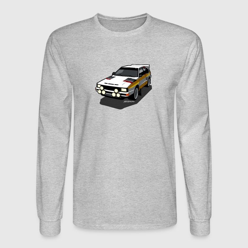 Audi Sport Rally Ur-Quattro Group B Long Sleeve Shirts - Men's Long Sleeve T-Shirt