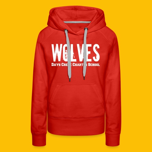 WOLVES DCCS Women's Long Sleeve  - Women's Premium Hoodie