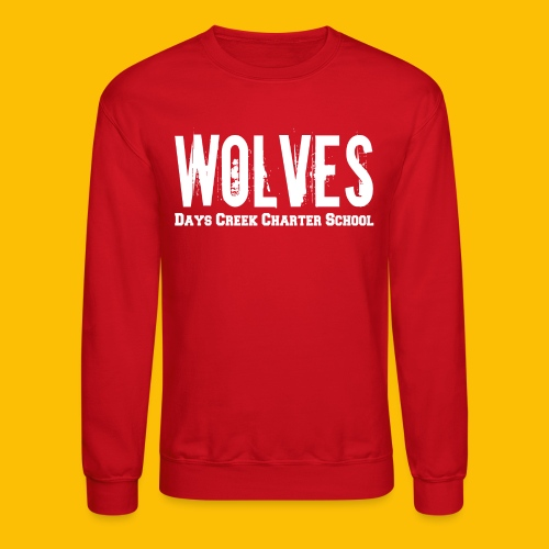WOLVES DCCS Women's Long Sleeve  - Crewneck Sweatshirt