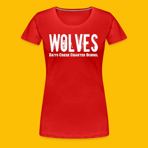WOLVES DCCS Women's Long Sleeve  - Women's Premium T-Shirt